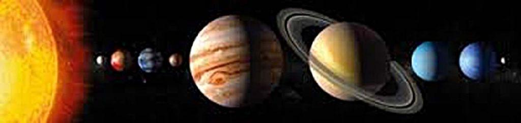 solar system baner